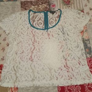 Lily Rose lace blouse